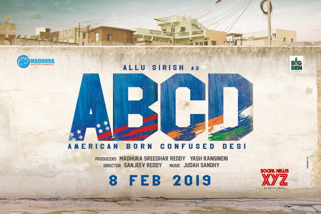 Allu Sirish's ABCD Telugu to release on February 8th