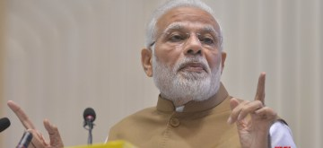 New Delhi: Prime Minister Narendra Modi at the launch of MSME Support and Outreach Programme in New Delhi on Nov 2, 2018. (Photo: IANS)
