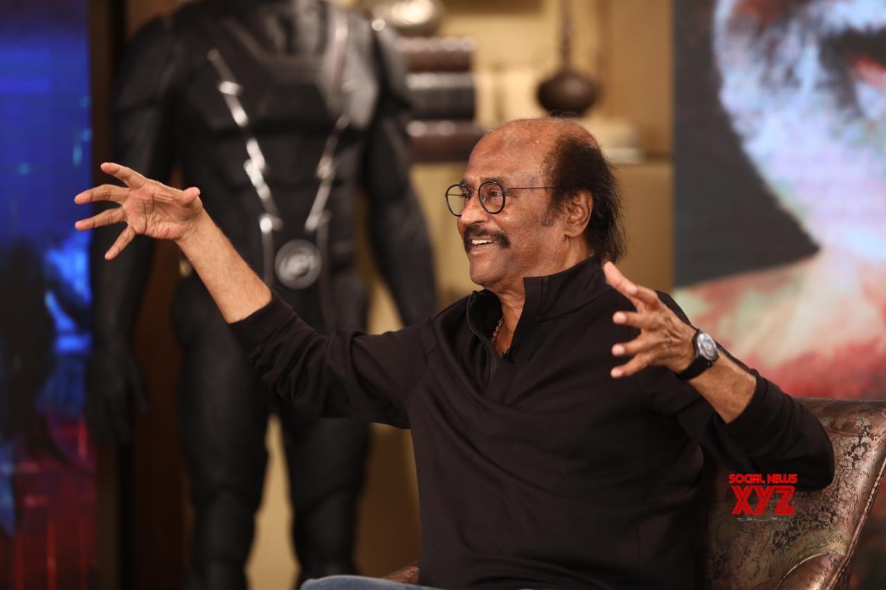 Rajinikanth Stills From 2.0 Interview On Zee Tamil
