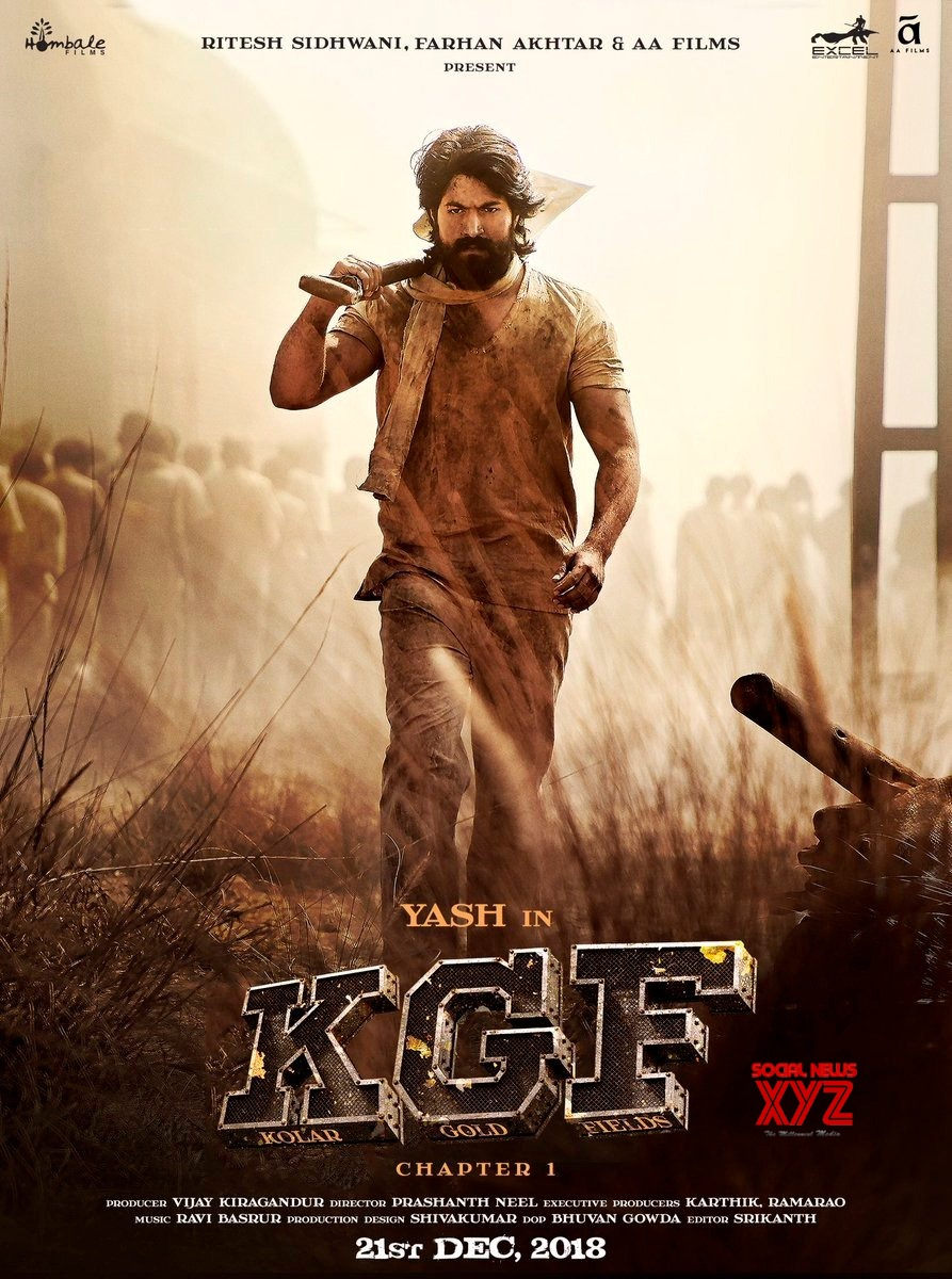 KGF Movie Trailer Posters