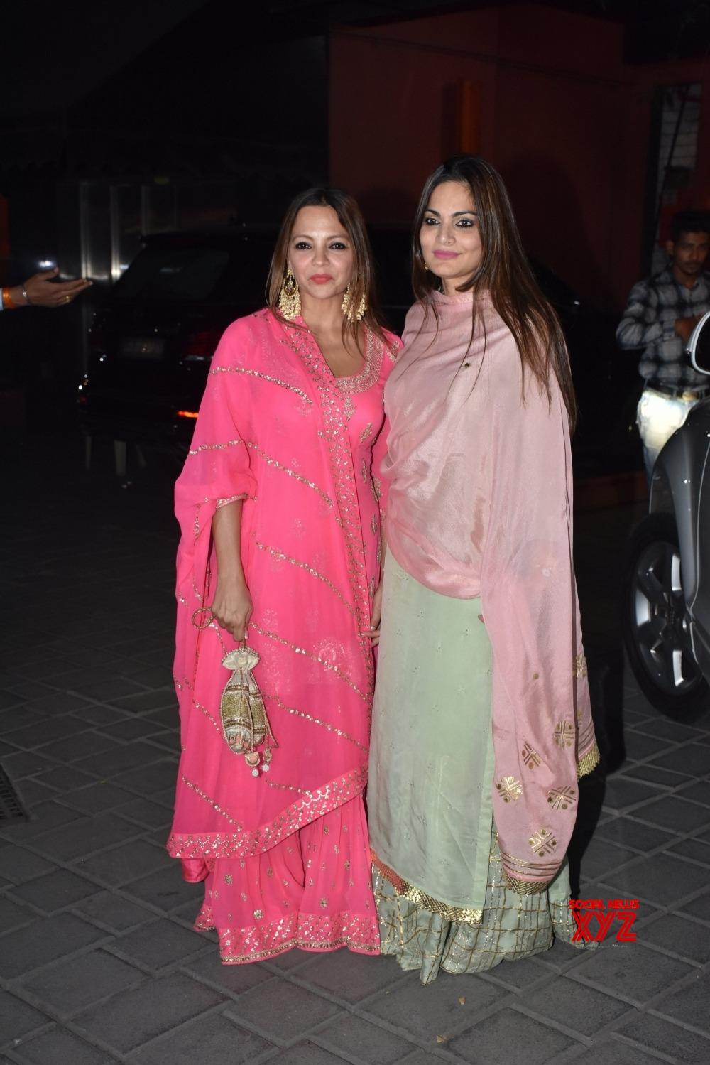 Mumbai: Arpita Khan and Aayush Sharma host Diwali party #Gallery