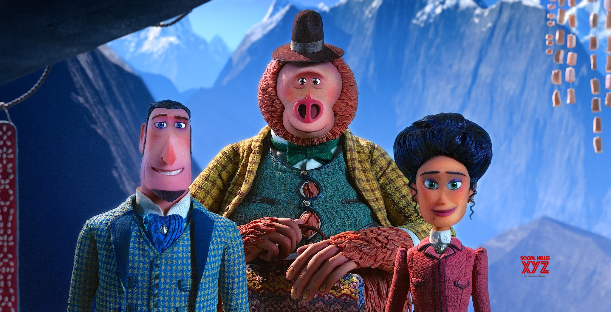 Missing Link Movie HD Poster And Still