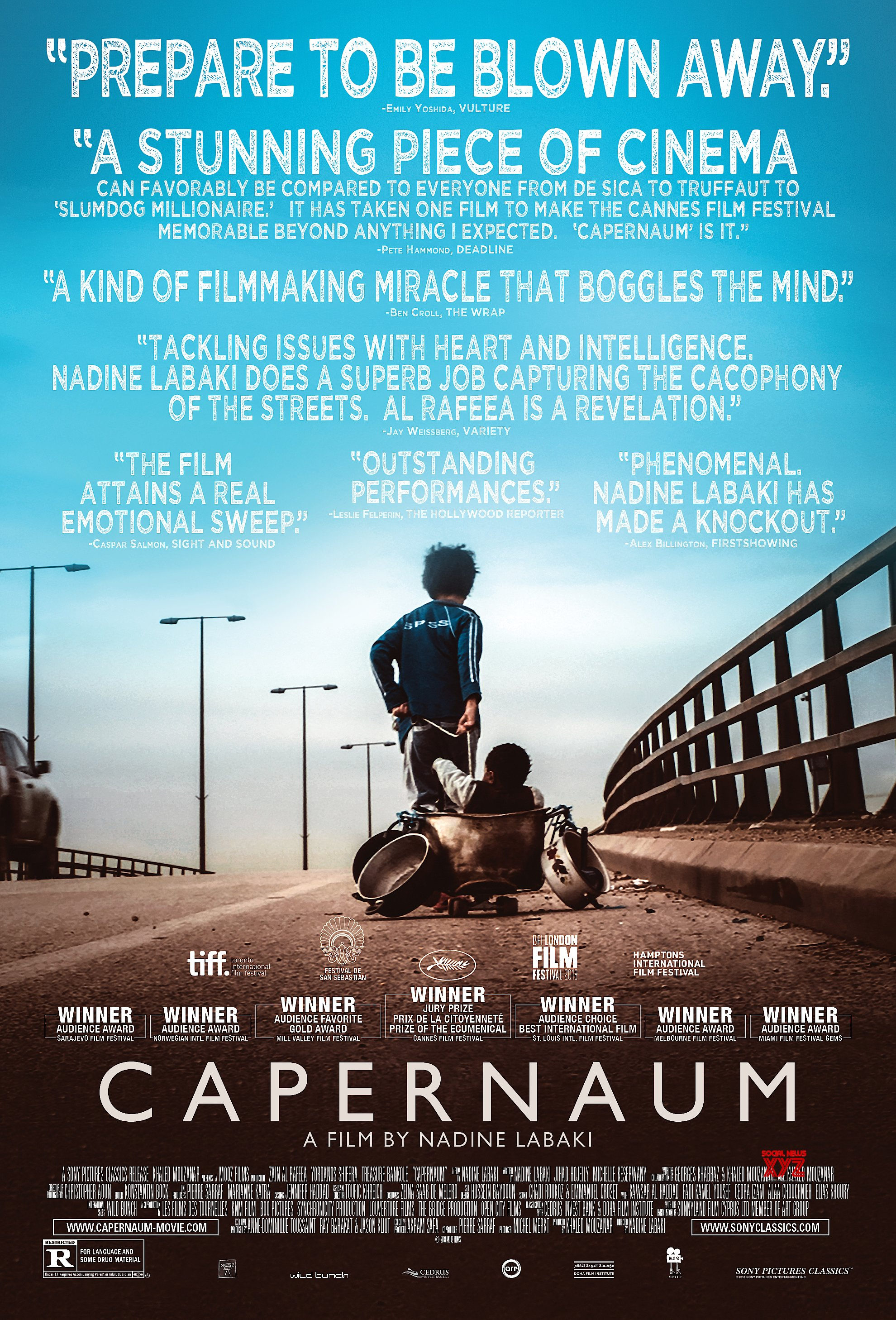 Capernaum Movie New HD Poster
