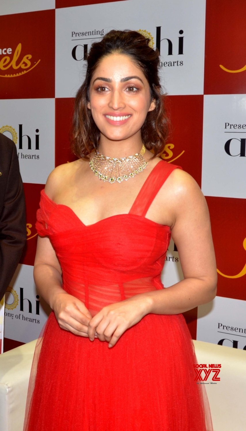 Guwahati: Yami Gautam launches jewellery collection #Gallery