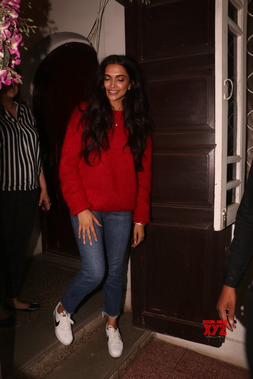 Mumbai: Deepika Padukone seen at Krome Studio in Bandra #Gallery