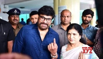 Actor Sudheer Babu Casted His Vote In Election 2019 - Social News XYZ