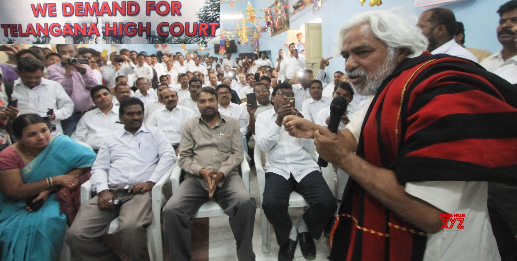 Ex-Maoist ideologue votes in Telangana