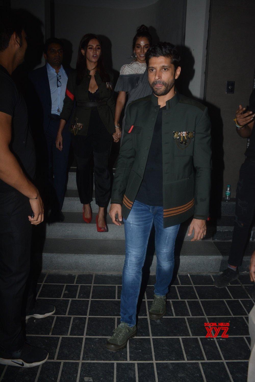 Mumbai: Shantanu and Nikhil's store launch - Farhan Akhtar #Gallery