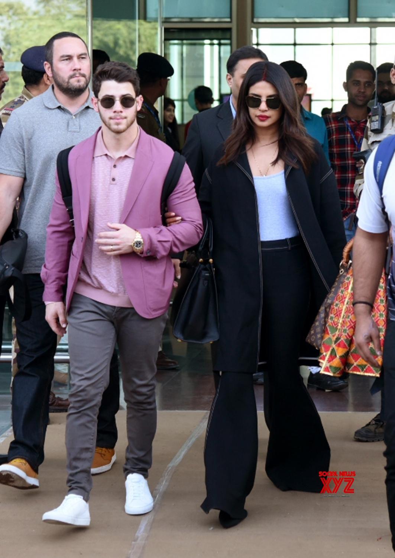Udaipur: Priyanka Chopra, Nick Jonas in Rajasthan for Isha Ambani & Anand Piramal's pre wedding ceremonies #Gallery