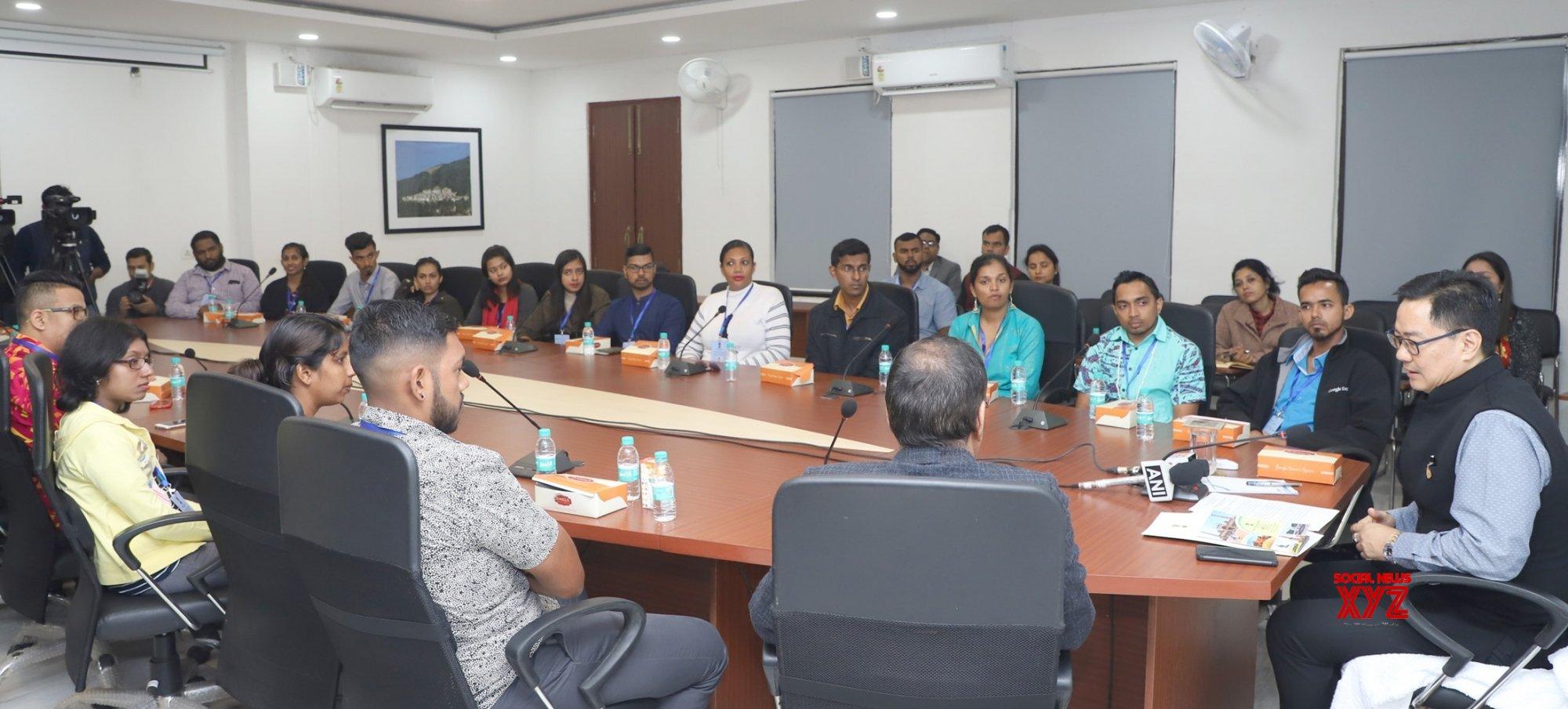Diaspora should act as India's ambassadors: Rijiju