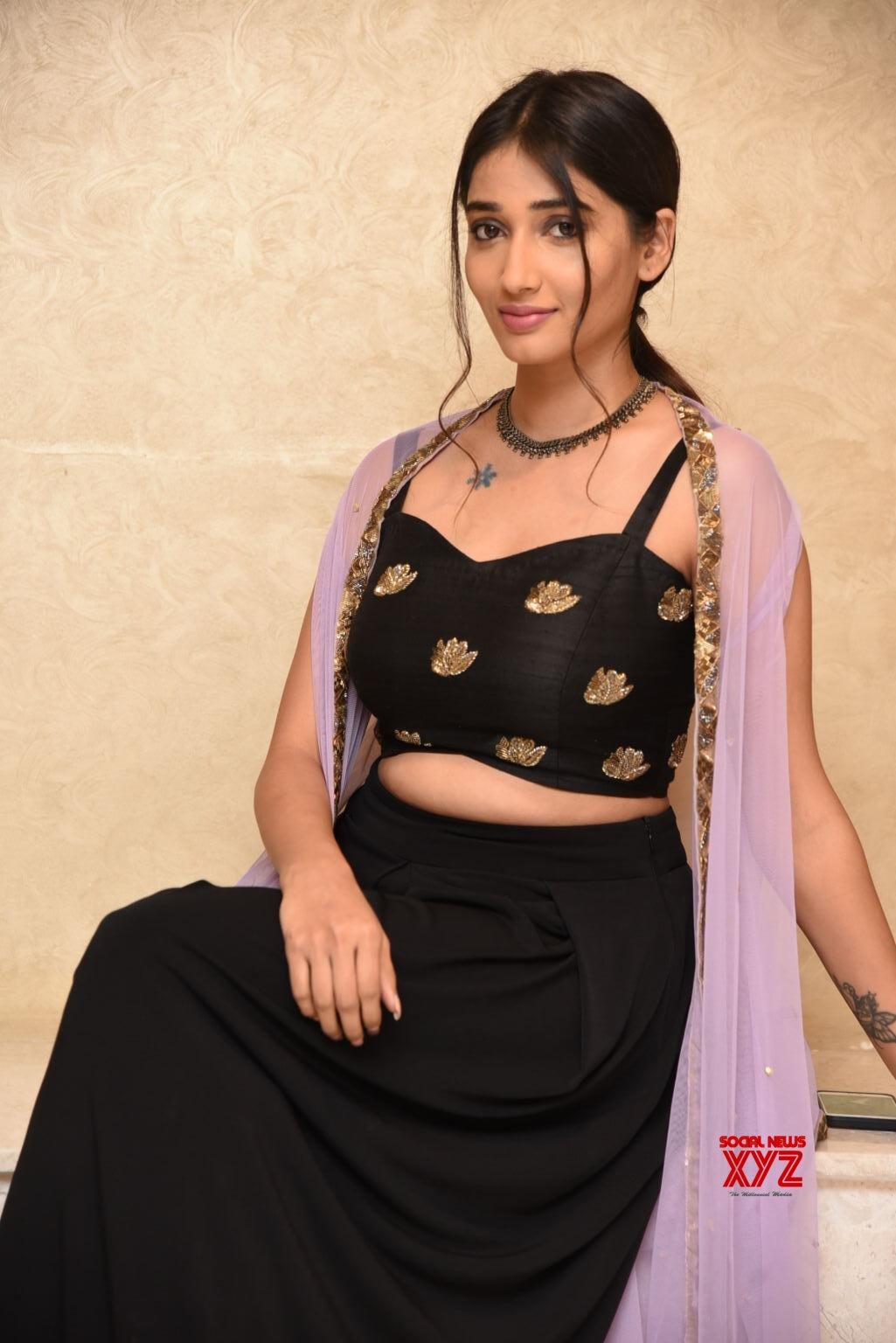 Actress Priya Vadlamani Stills From Hushaaru Pre Release Event