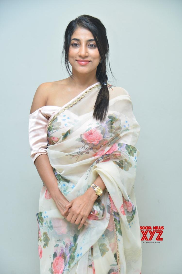 Actress Swapna Stills From U Movie Audio Launch