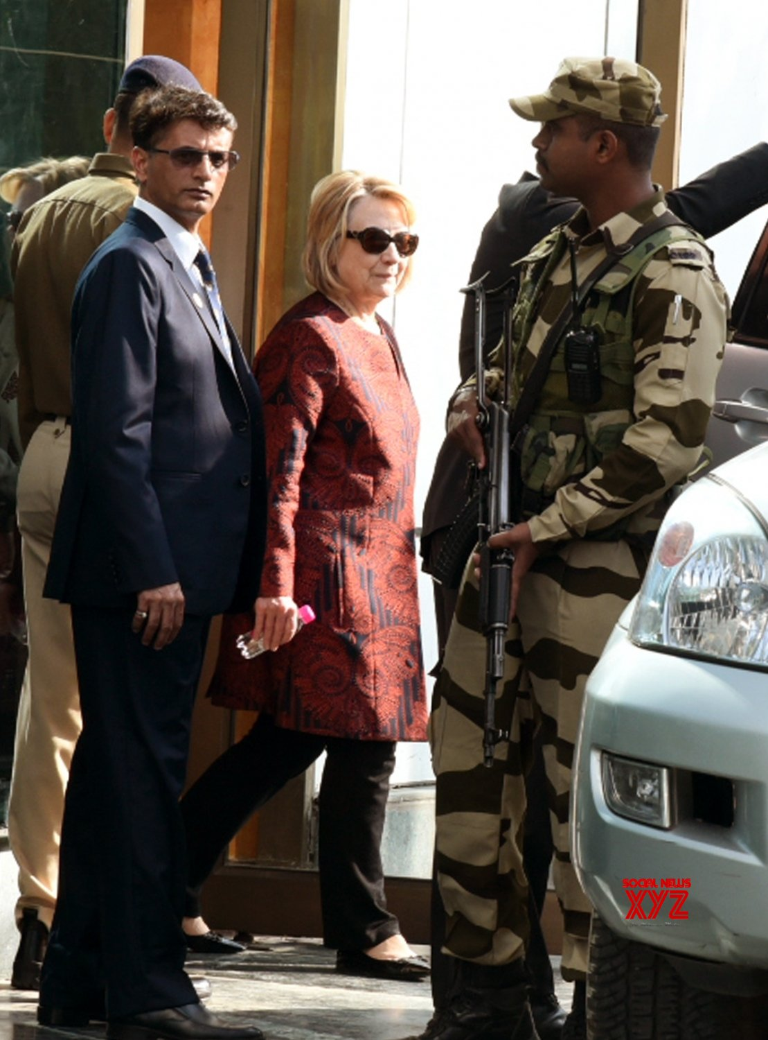 Udaipur: Hillary Clinton arrives for Isha Ambani & Anand Piramal's pre wedding ceremonies #Gallery