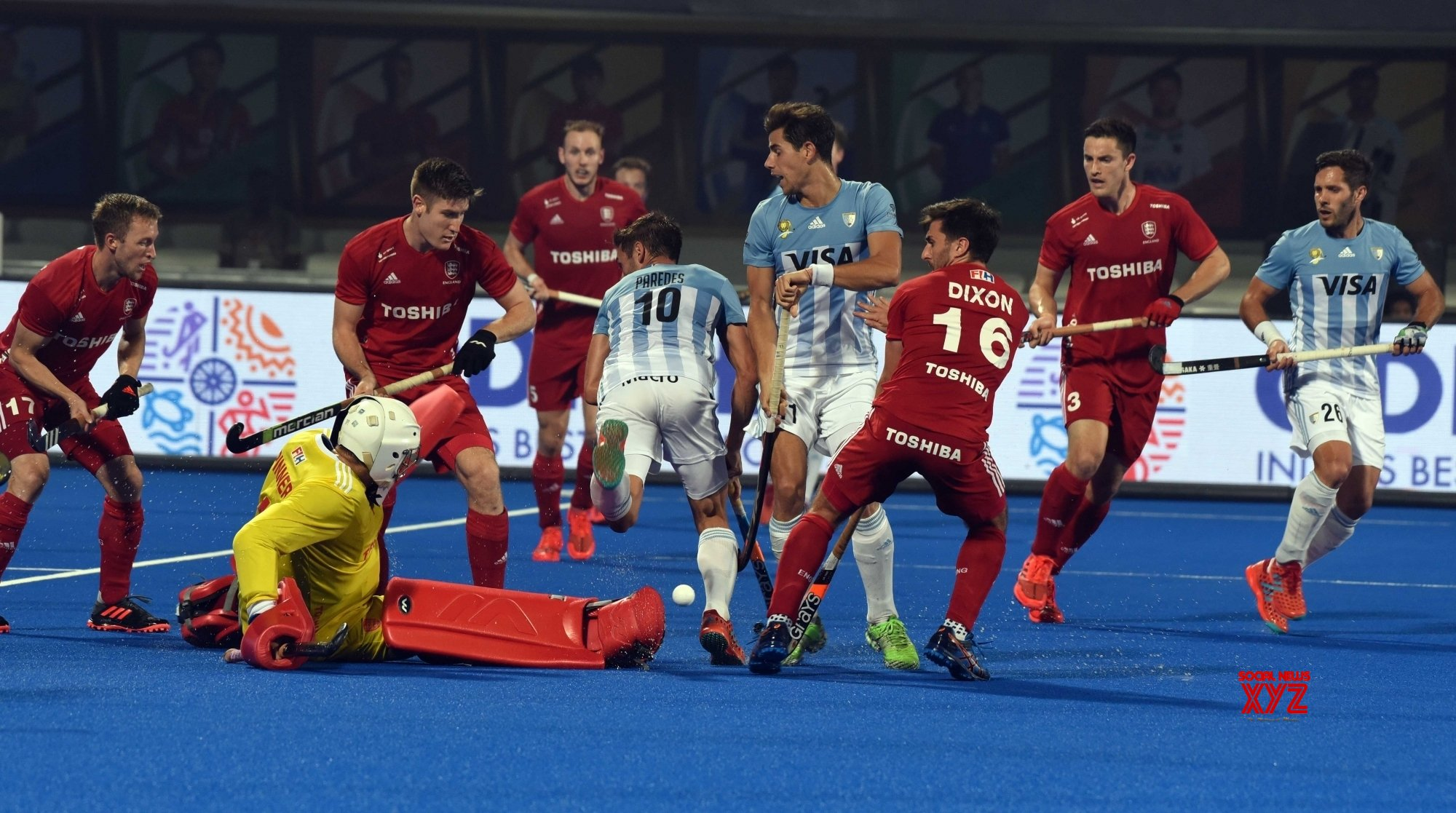 FIH World Cup: England beat Argentina to enter semis