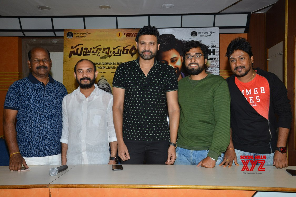 Subrahmanyapuram Movie Success Meet Gallery