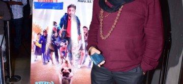 """Mumbai: Actor Mukesh Khanna at the screening of her upcoming film """"Bhaagte Raho"""" in Mumbai on Dec 14, 2018. (Photo: IANS)"""