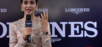 Jaipur: Actress Kriti Kharbanda addresses during a promotional programme in Jaipur, on Dec 18, 2018. (Photo: Ravi Shankar Vays/IANS)