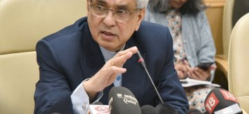 New Delhi: NITI Aayog Vice-Chairman Rajiv Kumar addresses a press conference at the release of NITI Aayog's 'Strategy for New India @75', in New Delhi on Dec 19, 2018. (Photo: IANS/PIB)