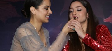 Mumbai: Actress Ankita Lokhande celebrates her birthday with Kangana Ranaut in Mumbai, on Dec 18, 2018. (Photo: IANS)