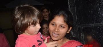 Mumbai: Actor Shah Rukh Khan's son AbRam seen at Mumbai's Bandra on Dec 22, 2018. (Photo: IANS)