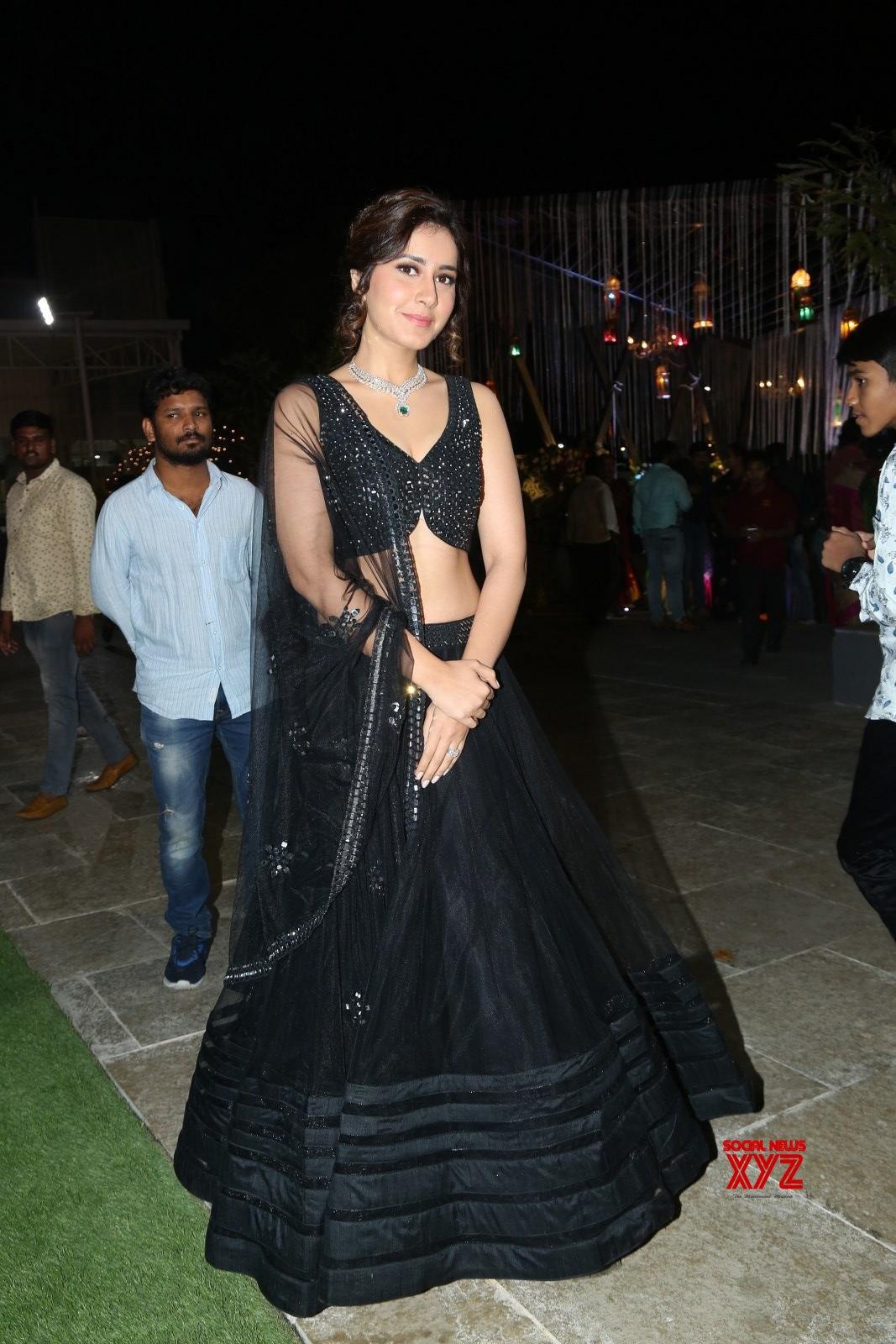 Actress Raashi Khanna Stills From Dil Rajus Nephew