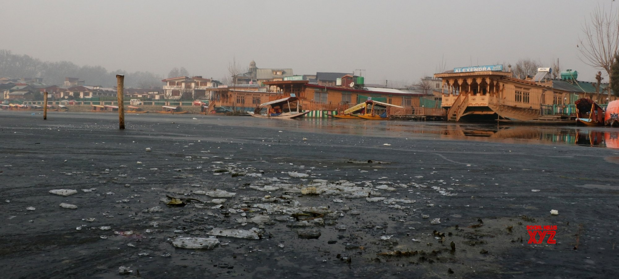 After 25 years, Srinagar records minus 8.4 degrees at night
