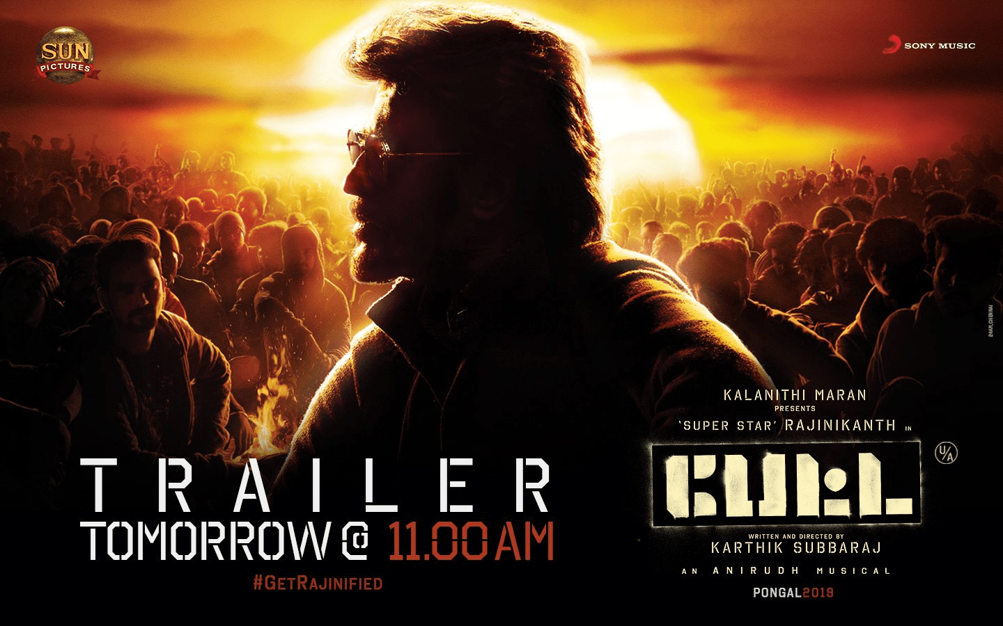 Petta Movie Trailer Will Be Released Tomorrow At 11 Am Social News Xyz
