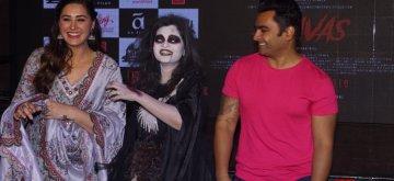 "Mumbai: Actors Sachiin Joshi and Nargis Fakhri during the media interaction of their upcoming film ""Amavas"" in Mumbai, on Jan 5, 2019. (Photo: IANS)"