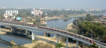 Lucknow metro. (File Photo: IANS)