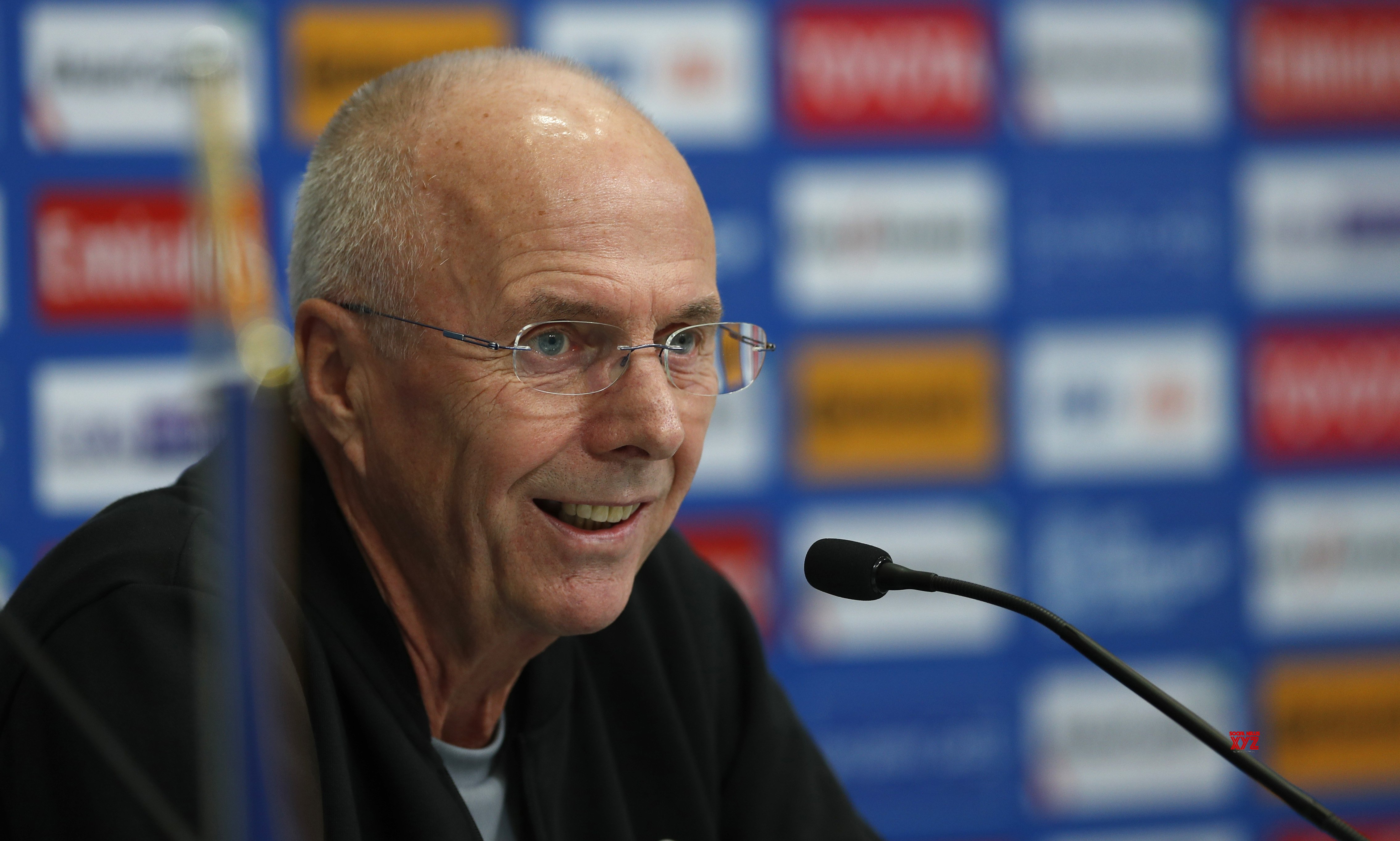 Image result for sven goran eriksson michael falkesgaard press conference