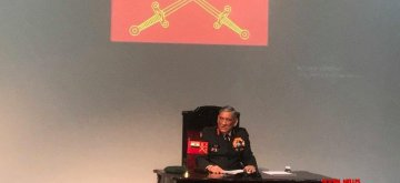 New Delhi: Army Chief General Bipin Rawat addresses Indian Army's annual press conference, in New Delhi, on Jan 10, 2019. (Photo: IANS/Indian Army)