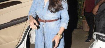 Mumbai: Actress Aditi Rao Haydri seen outside a gym, in Mumbai on Jan 9, 2019. (Photo: IANS)