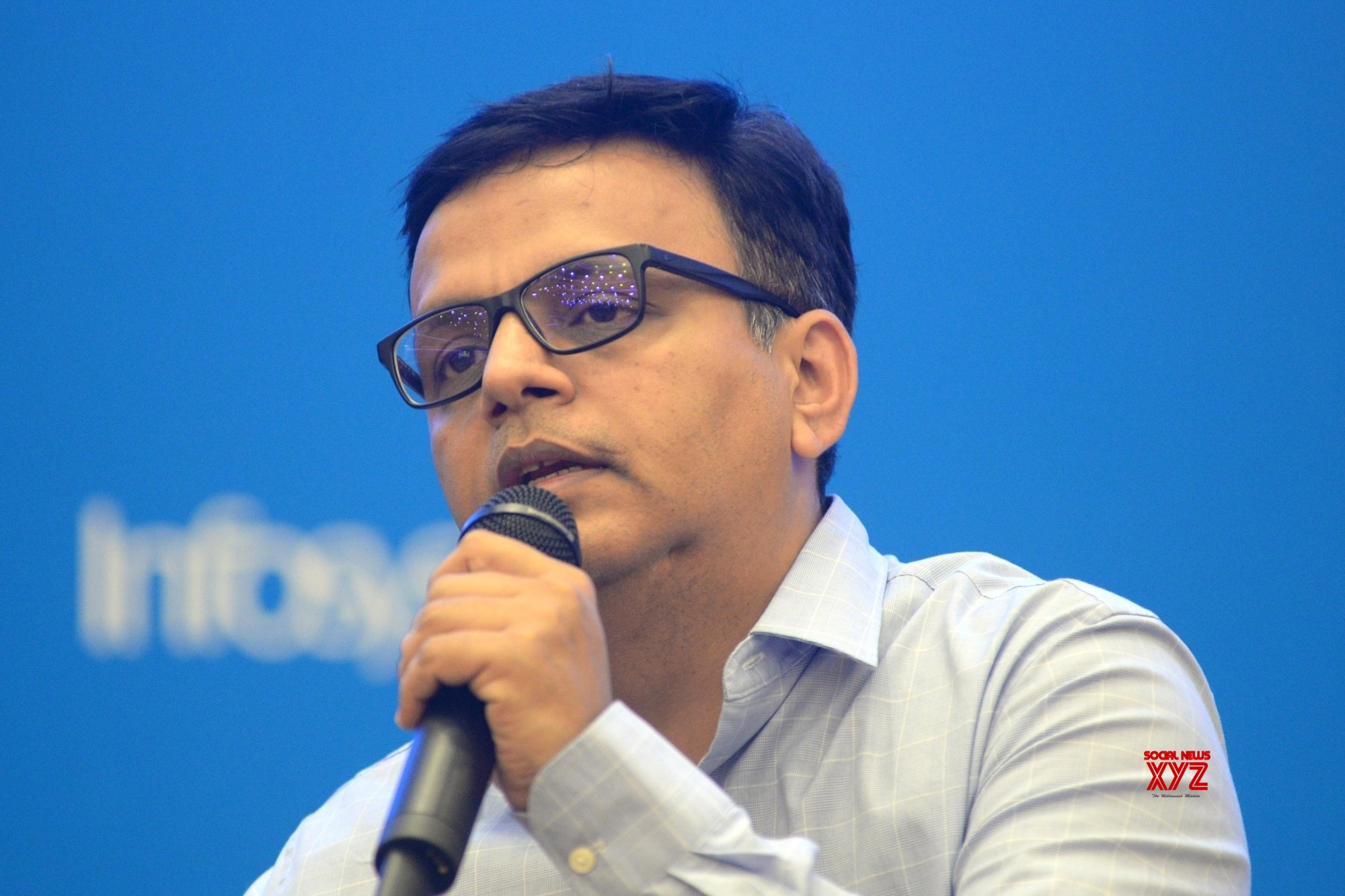 Bengaluru: Infosys press conference #Gallery