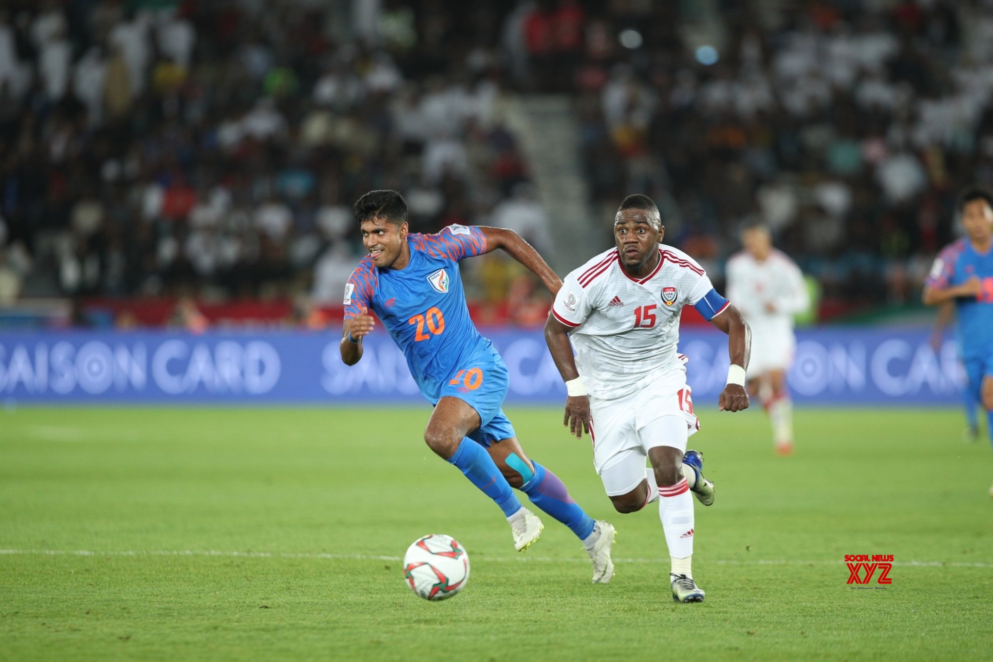 Abu Dhabi: AFC Asian Cup 2019 - India vs UAE #Gallery
