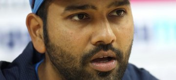 Dharamsala: Indian captain Rohit Sharma addresses a press conference ahead of the three-match One-day International against India at the HPCA Stadium in Dharamsala on Dec 9, 2017. (Photo: Surjeet Yadav/IANS)