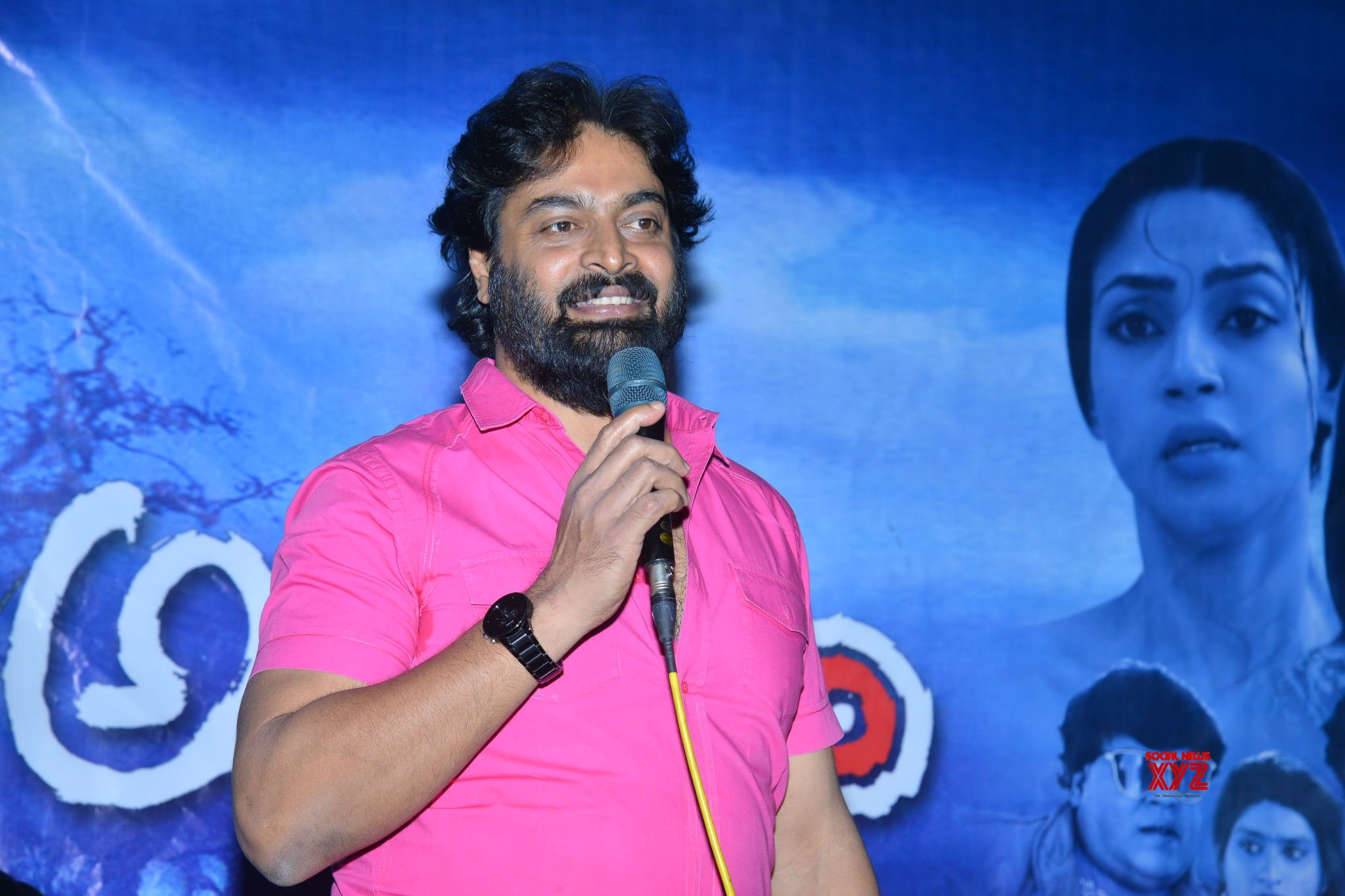 Adrushyam Movie Teaser Launch Gallery