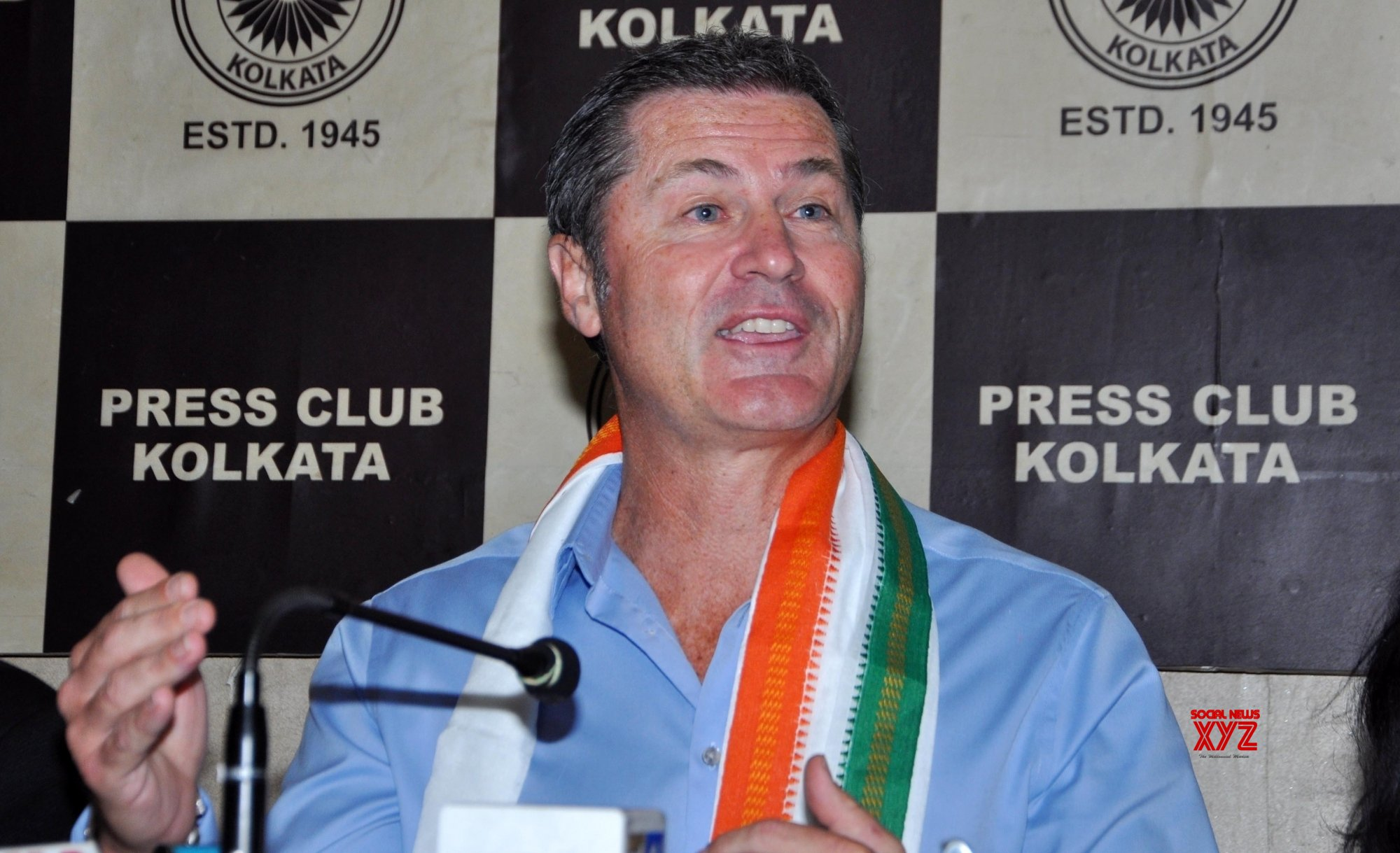 Kolkata: Simon Taufel's press conference #Gallery