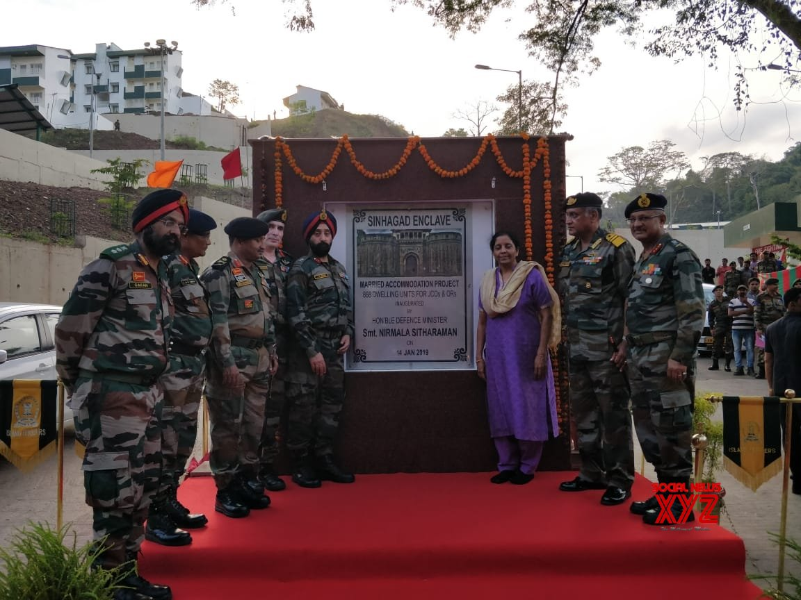 Port Blair: Nirmala Sitharaman inaugurates Married Accommodation Project #Gallery