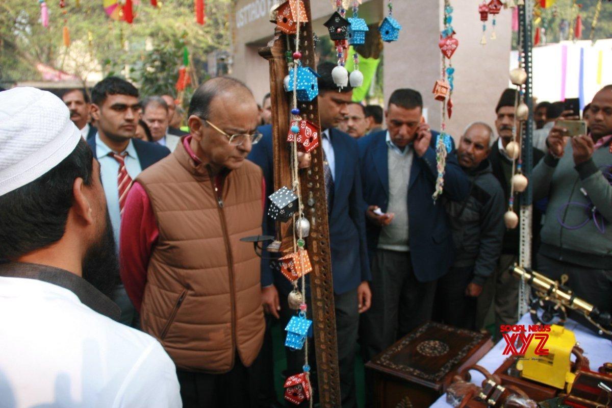 Jaitley opens Hunar Haat in Delhi