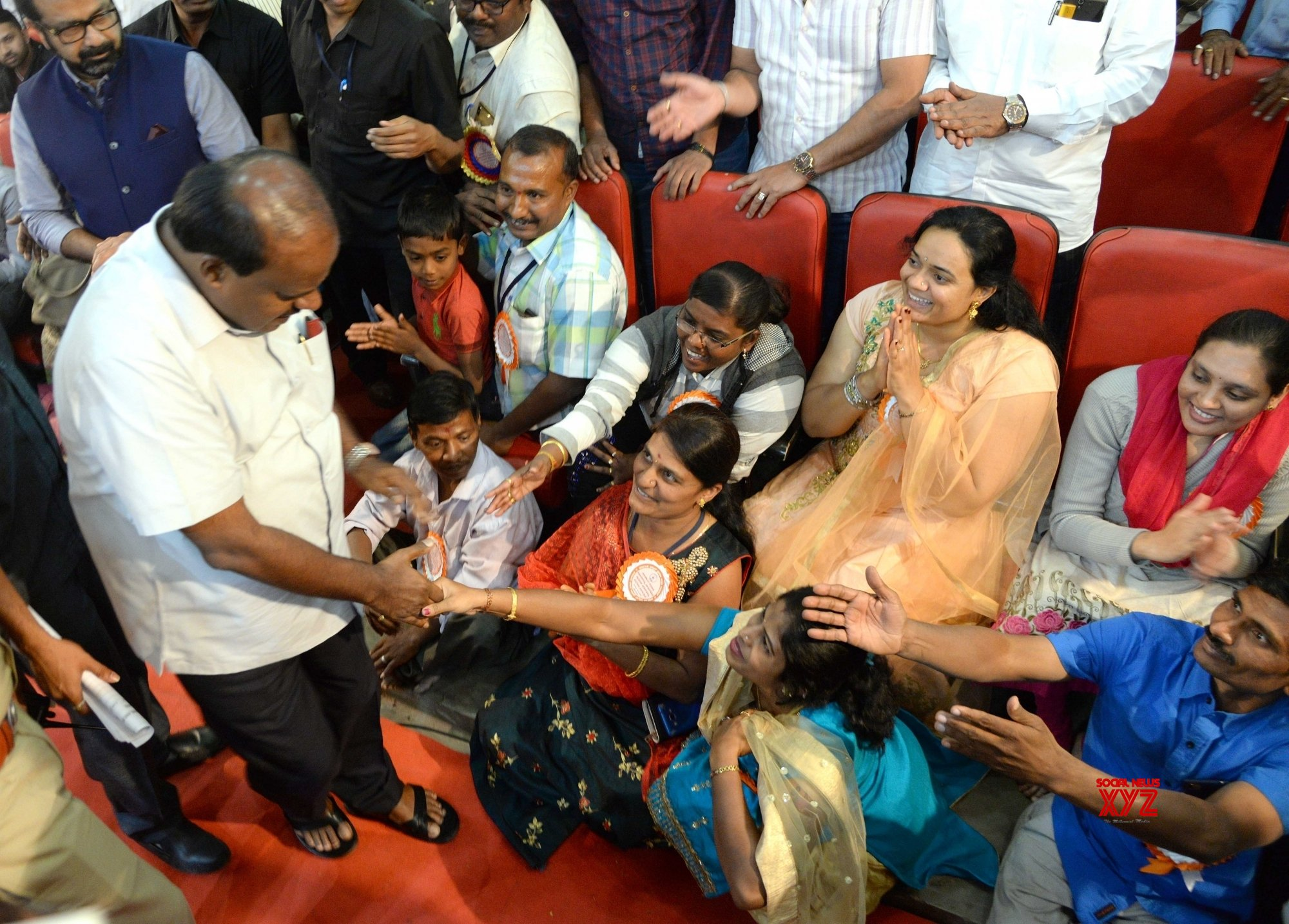 Bengaluru: Karnataka CM handover recruitment orders to specially abled revenue assistants #Gallery
