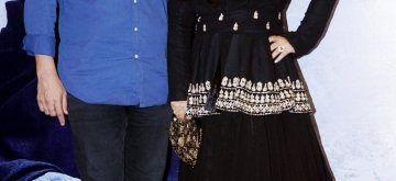 "Mumbai: Actress Vidya Balan and her husband Siddharth Roy Kapoor at late poet Kaifi Azmi's centenary programme - ""Raag Shayari"" in Mumbai on Jan 14, 2019. (Photo: IANS)"