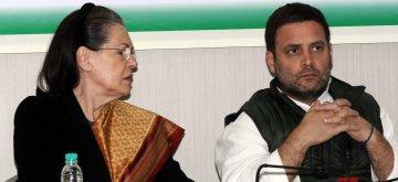 Congress Chief Rahul Gandhi and UPA chairperson Sonia Gandhi. (File Photo: IANS)
