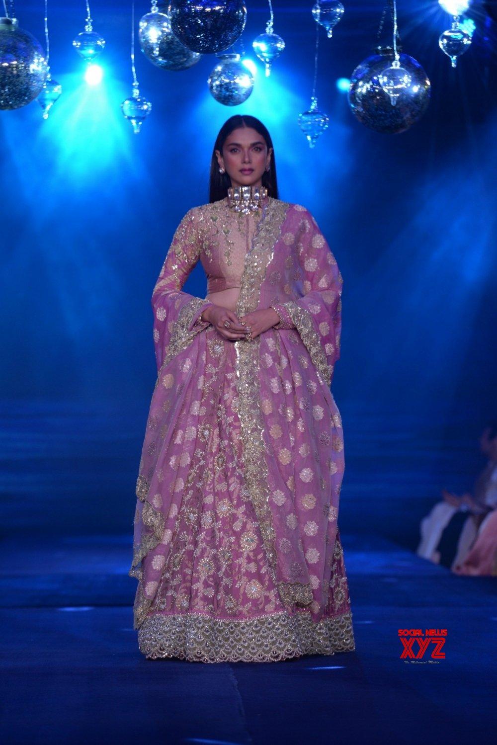 Mumbai: Aditi Rao Hydari at House of Kotwara's show #Gallery