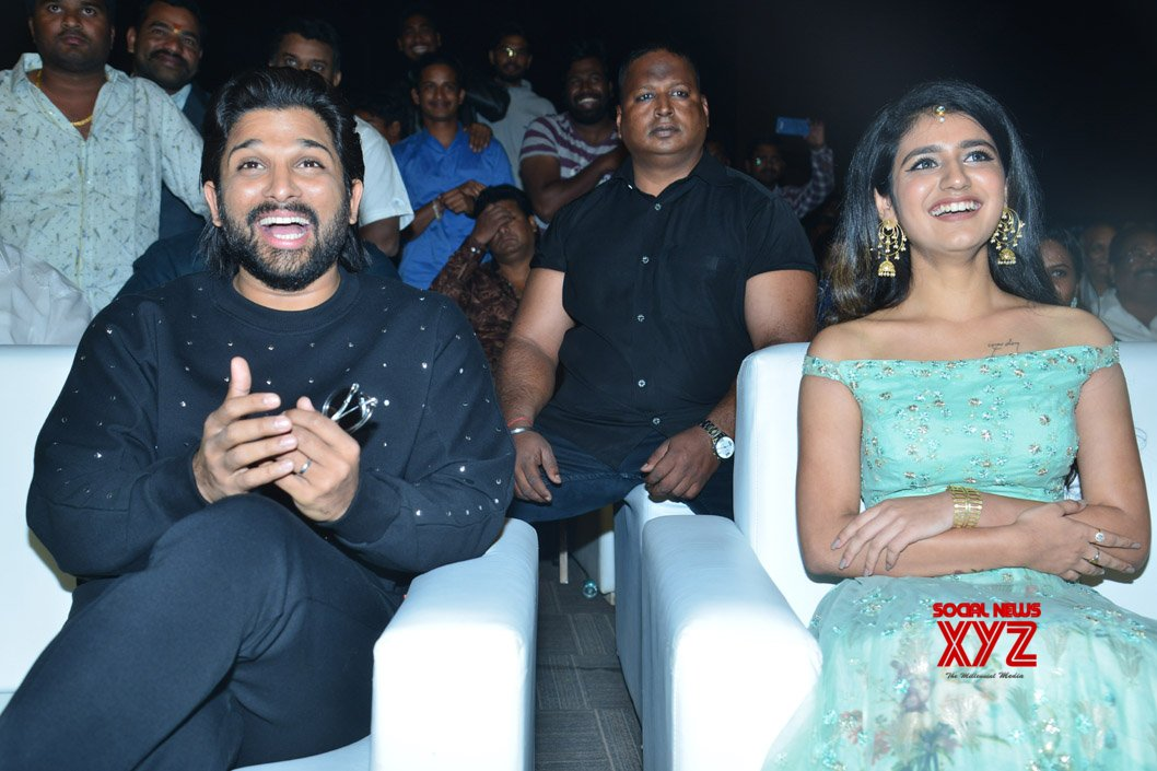 Allu Arjun At Lovers Day Movie Audio Launch - Gallery