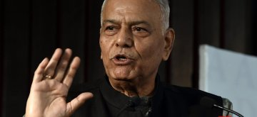 Yashwant Sinha. (File Photo: IANS)