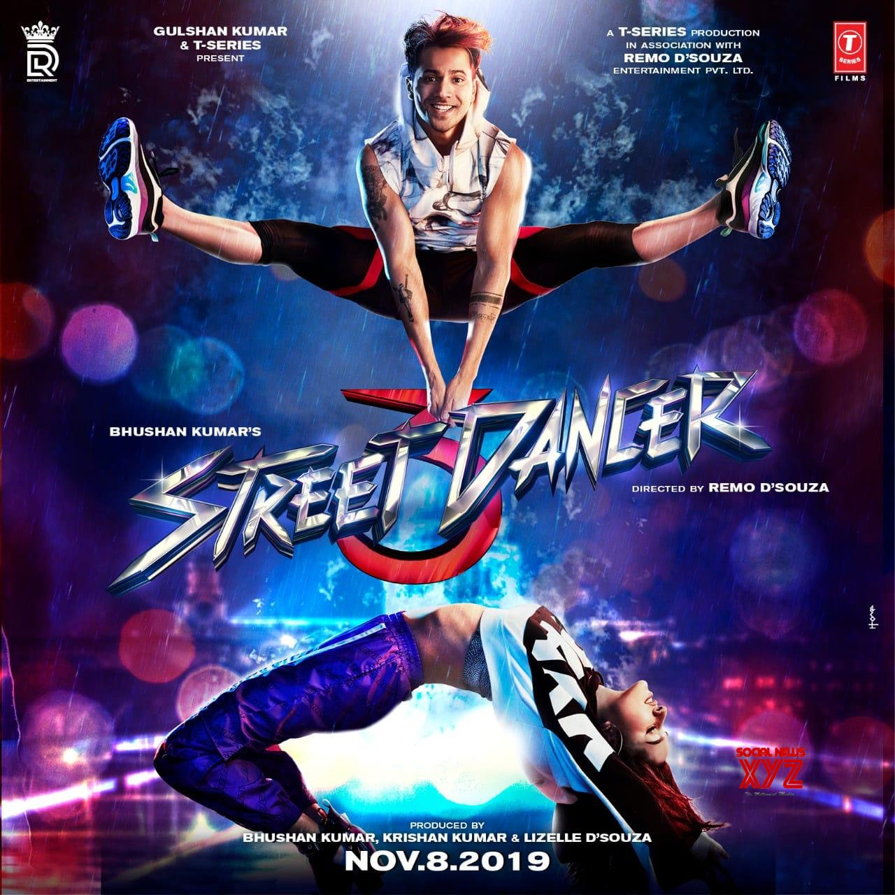 Street Dancer 3D Movie Posters & Still
