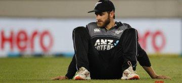 Auckland (New Zealand): New Zealand captain Kane Williamson during the second T20I match between India and New Zealand at Eden Park in Auckland, New Zealand on Feb 8, 2019. (Photo: Surjeet Yadav/IANS)