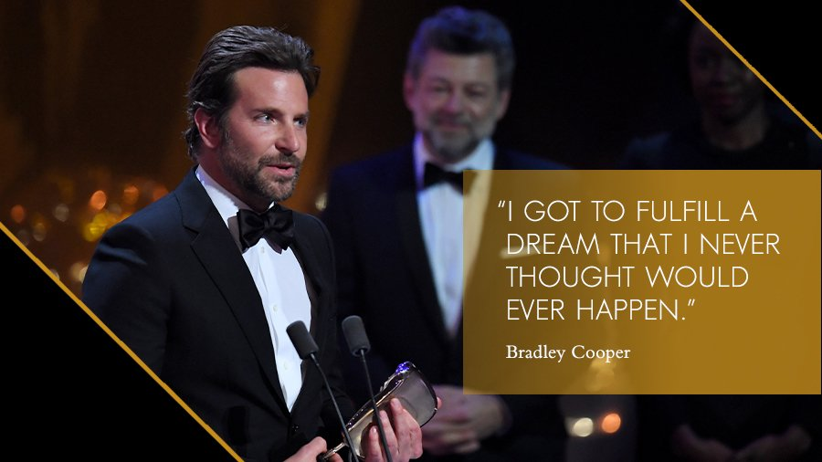 Irina Shayk gives standing ovation to beau Bradley Cooper at BAFTA