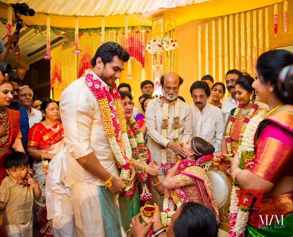 Soundarya Rajinikanth And Vishagan Vanangamudi Wedding Stills