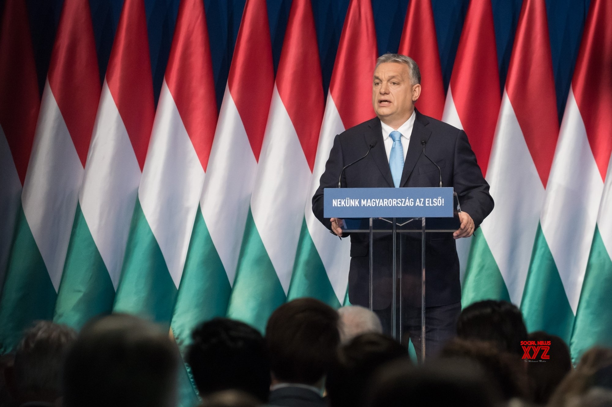 HUNGARY - BUDAPEST - PM - ANNUAL SPEECH #Gallery